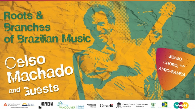 Celso Machado and Guests – Jongo, Choro, and Afro-Samba: Roots & Branches of Brazilian Music