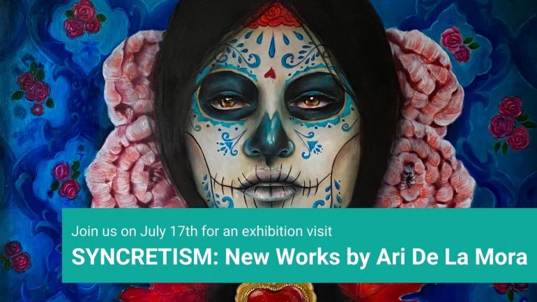 Guided Exhibition Visit – Ari De La Mora's Syncretism