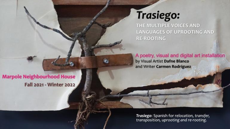 TRASIEGO:  An Installation by Dafne Blanco-Sarlay and Carmen Rodríguez
